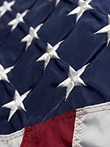 Картинки США Крупным планом Флаг Звездочки