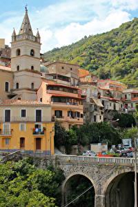 Фотографии Сицилия Италия Здания Мосты