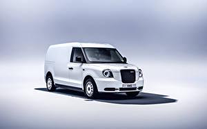Фото Белых Металлик Фургон LEVC VN5, 2020 Автомобили