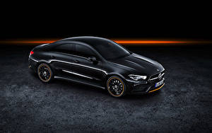 Фотография Мерседес бенц Черный 2019 CLA 250 AMG Line Edition Orange Art Worldwide Авто