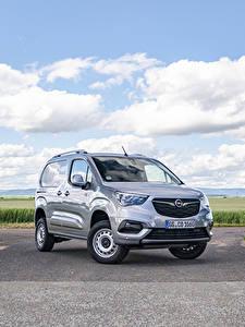Фотографии Opel Серый Металлик Минивэн 2019-20 Combo Cargo 4×4 авто