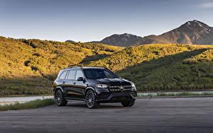 Фото Mercedes-Benz Черный Металлик 2020 GLS 580 4MATIC AMG Line автомобиль