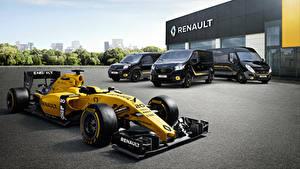 Картинка Renault Формула 1 Металлик Автомобили