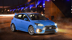 Картинка Ford Голубой Металлик Focus, RS, ZA-spec, DYB, 2016-18 машина