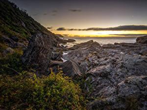 Фотография Чили Побережье Рассветы и закаты Камень Costa de Valdivia