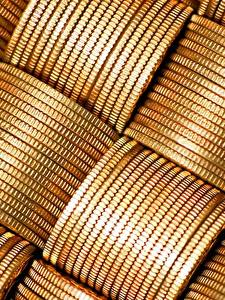 Обои Монеты Деньги Вблизи Текстура