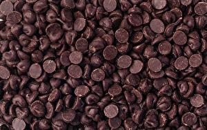 Картинки Сладкая еда Шоколад Конфеты Много Продукты питания