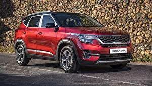 Фотография Киа Красная Металлик CUV Seltos EX 2020 Автомобили