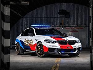 Фотография BMW Тюнинг 2018 M5 MotoGP Safety Car Автомобили
