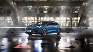 Картинки Форд Голубых 2019 Focus ST Worldwide