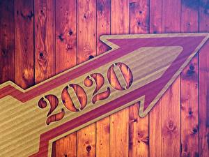 Фото Новый год Стрелка (символ) Доски 2020