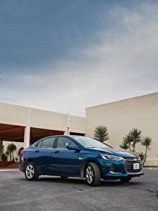 Фотография Шевроле Синяя Металлик 2020 Onix Premier машина