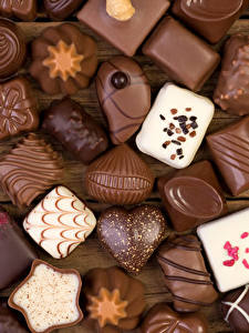 Фото Сладости Конфеты Шоколад