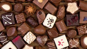 Фото Сладости Конфеты Шоколад Пища