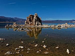 Картинки Озеро США Калифорнии Mono Lake