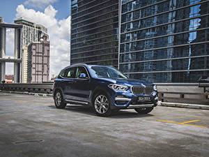 Фотография БМВ Кроссовер Синий Металлик 2020 X3 xDrive30e xLine авто