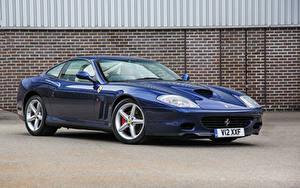 Обои Ferrari Синий Металлик 2002-06 575 M Maranello Pininfarina