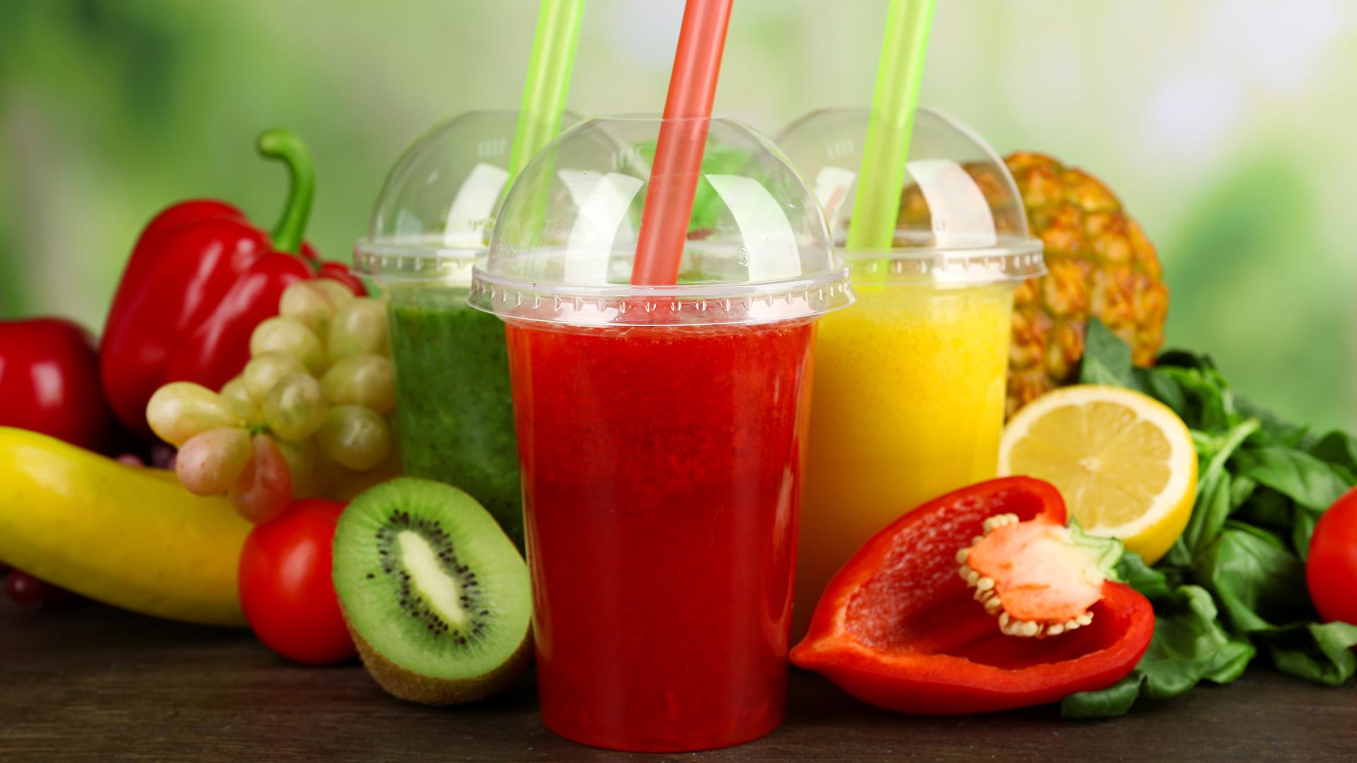 Фотография Сок стакане Еда Овощи Фрукты 1920x1080 Стакан стакана Пища Продукты питания