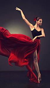 Фото Шатенка Танцы Юбка Руки Балет