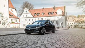 Фото Фольксваген Черный Металлик 2020 ABT Golf автомобиль