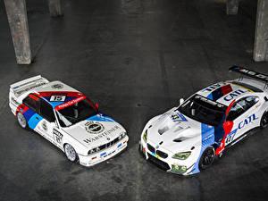 Фотографии БМВ Тюнинг Две M6 E30 Автомобили