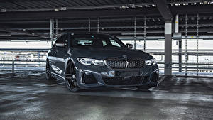 Фотографии BMW Серые Металлик 2020 G-Power M340i Автомобили