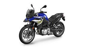 Фотографии БМВ Белом фоне F 750 GS Style Sport, 2020 мотоцикл