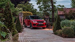 Фотографии Range Rover Внедорожник Красная Металлик 2019-20 Sport HST авто