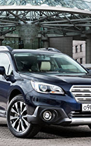 Фотографии Subaru Синий Металлик 2015, Outback Машины