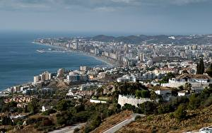 Картинка Дома Испания Побережье Andalusia, Fuengirola Города