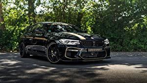 Фото BMW Металлик Черная 2018 Biturbo M5 Manhart V8 F90 MH5 700 машины