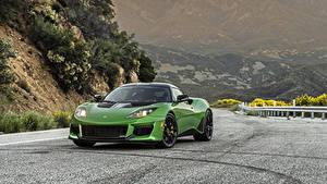 Обои Лотус Зеленая Металлик 2020 Evora GT авто