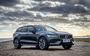 Картинка Volvo Универсал 2019 V60 D4 Cross Country автомобиль