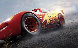 Обои Тачки 3 Красный Lightning McQueen