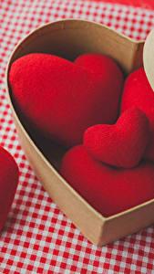 Картинка День святого Валентина Сердце Красный Коробки