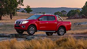 Обои Nissan Пикап кузов Красных Металлик 2017-19 Navara ST-X Dual Cab Авто