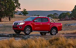 Обои Nissan Пикап кузов Красный Металлик 2017-19 Navara ST-X Dual Cab Авто