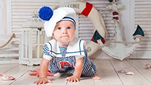 Обои Доски Младенцы Взгляд Униформа
