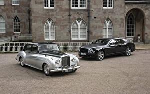 Картинки Бентли 2 Металлик Mulsanne, Bentley S2 авто