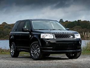 Картинка Range Rover Черная Металлик CUV Freelander 2, LR2, 2010 авто