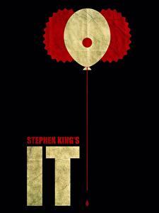 Картинки Оно 2017 Черный фон Stephen King Фильмы