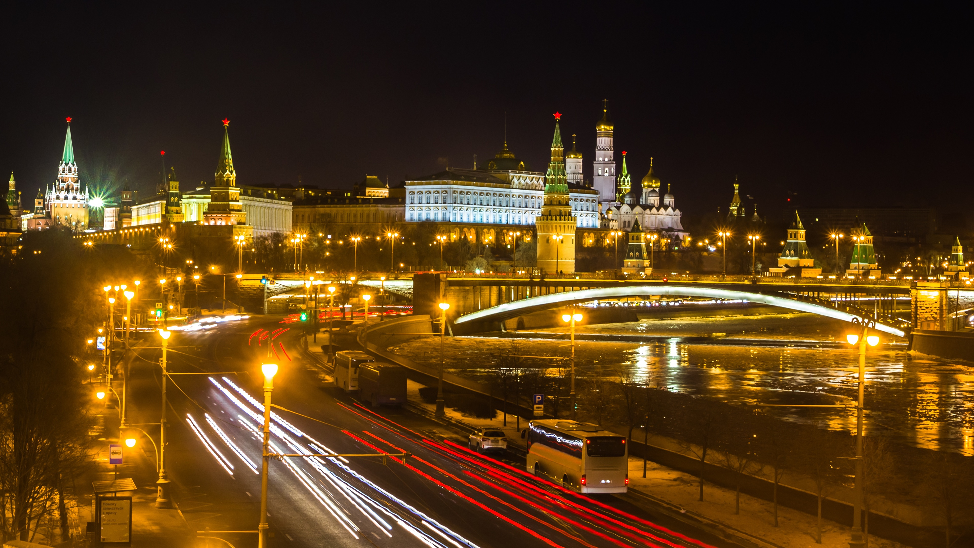 Обои московский кремль, russia, россия, moscow. Города foto 17
