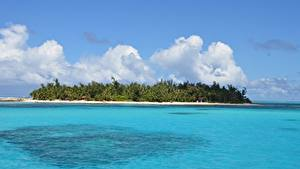 Картинки Остров Океан Тропический Saipan, Mariana islands, Pacific ocean