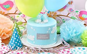 Картинка Торты Праздники День рождения