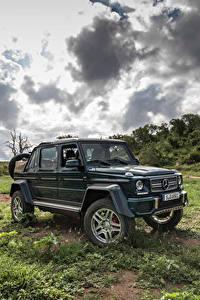 Обои Mercedes-Benz Тюнинг 2017 Maybach G 650 Landaulet Worldwide