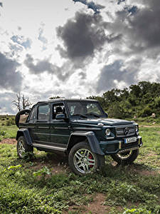 Обои Mercedes-Benz Тюнинг 2017 Maybach G 650 Landaulet Worldwide
