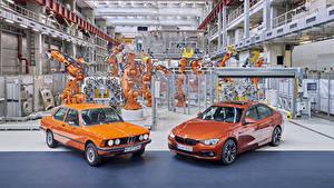 Фото BMW Ретро 2 Металлик Оранжевых 1975-2017 Serie 3 Машины