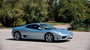 Обои Феррари Серебристый 1999-2004 360 Modena Worldwide Pininfarina Авто