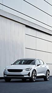 Картинка Белый Металлик 2019 Polestar 1 Worldwide автомобиль