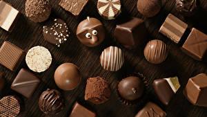 Картинка Сладкая еда Конфеты Шоколад Пища